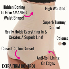 Miraclesuit Extra Firm Control Briefs With Back Magic - Hidden Boning