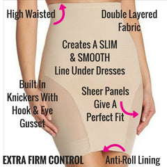 Miraclesuit Shapewear Extra Firm Control Sexy Sheer Shapewear Slip
