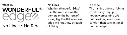 Keep Your Control Brief Perfectly In Place With Wonderful Edge Lining