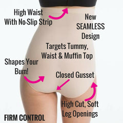 Spanx Higher Power High Waisted Slimming Panties