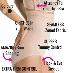 Spanx Oncore Build Your Own Bodysuit Briefs Extra Firm Control Bodysuit