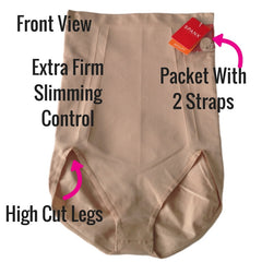 Spanx OnCore Build Your Own Bodysuit Briefs Front View