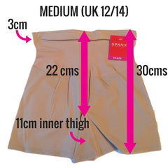 Spanx Shape My Day Slimming Girl Shorts Measurements