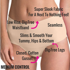 Spanx Undietectable Pretty Control Slimming Panties