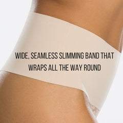 wide, seamless slimming band that wraps all the way round your tummy