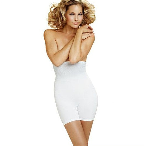 Body Wrap Bride Mid Thigh Body Shaper In White