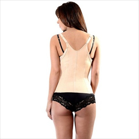 Esbelt Waist Cincher Vest Natural Back View
