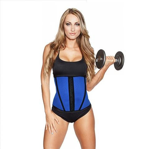 Esbelt Waist Training Corset In Blue