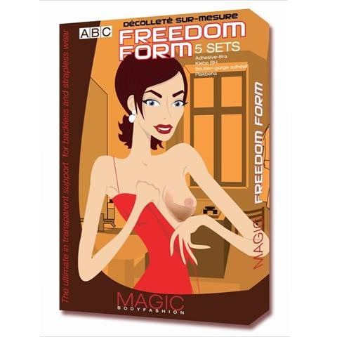 Magic Body Fashion Freedom Form Stick On Bra