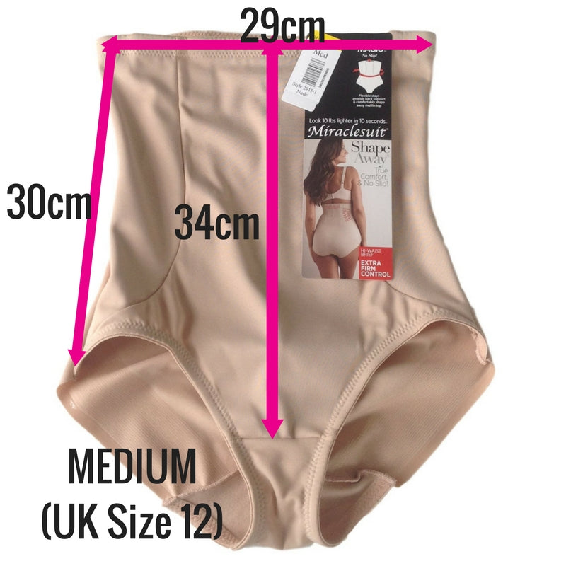 miraclesuit extra firm control back magic control pants shapewear review medium measurements
