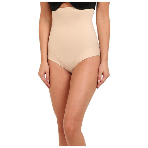 Miraclesuit Comfort Leg High Waist Shapewear Briefs Natural Front
