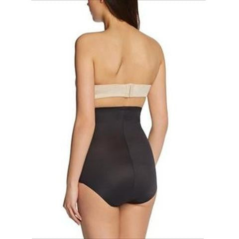Miraclesuit Inches Off High Waist Control Brief Black Back View