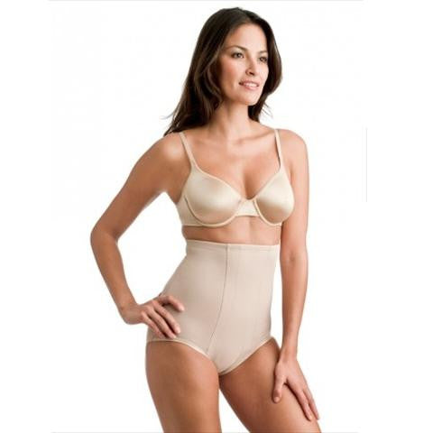 Miraclesuit Inches Off High Waist Control Brief Front View