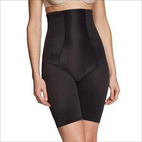 Miraclesuit Inches Off High Waist Thigh Trimmer In Black