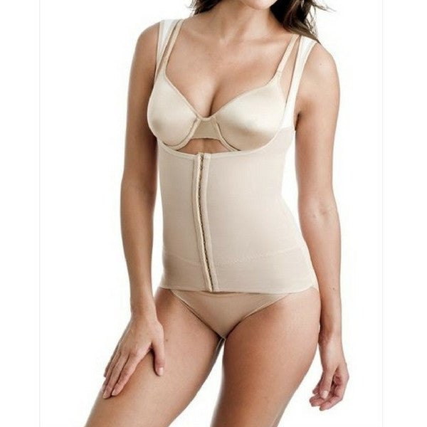 Miraclesuit Inches Off Torsette Waist Cincher Top Natural Front