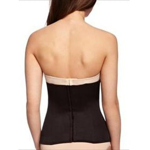 Miraclesuit Inches Off Boned Waist Cincher In Black Back View