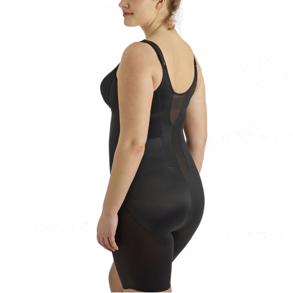 Miraclesuit Flexible Fit Plus Size Bodysuit 2931 Black Back
