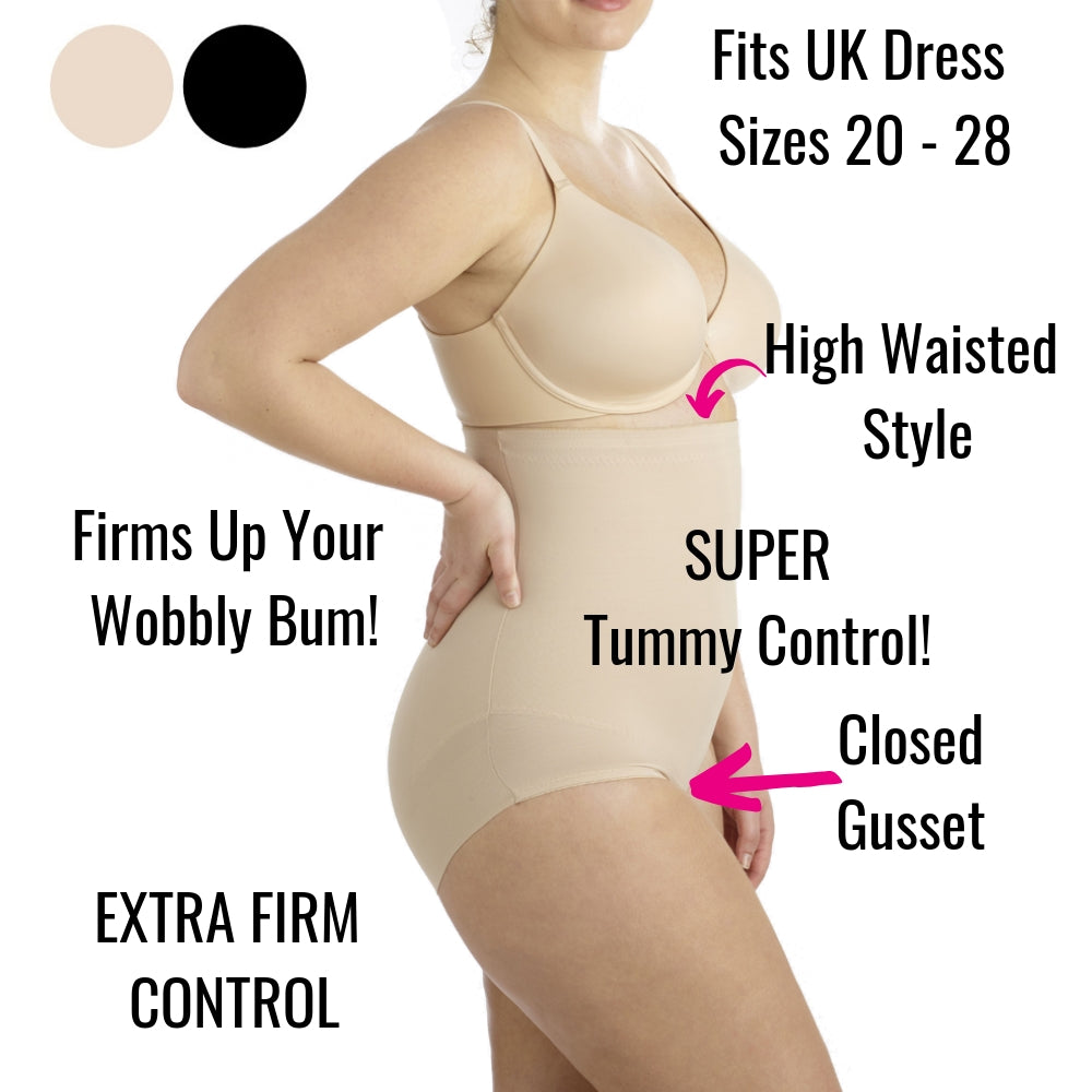 d1e8eb481d1 Miraclesuit Plus Size High Waisted Control Briefs  2935 – The Magic Knicker  Shop