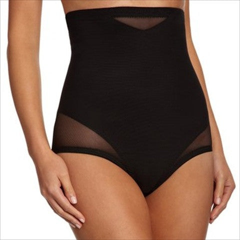 9c3c3ba269 Miraclesuit Sexy Sheer Shaping High Waist Control Briefs In Black.  Miraclesuit Sexy Sheer Shaping High Waist Control Briefs In Black