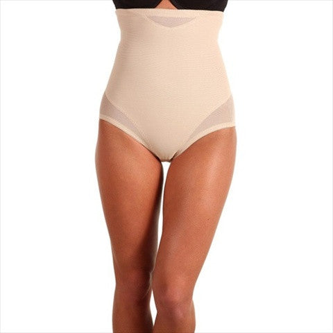 Miraclesuit Sexy Sheer Shaping High Waist Brief Front View