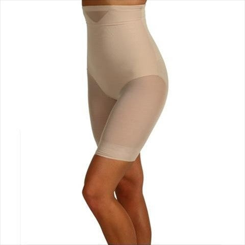 Miraclesuit Sexy Sheer Shaping High Waist Thigh Slimmer Front View