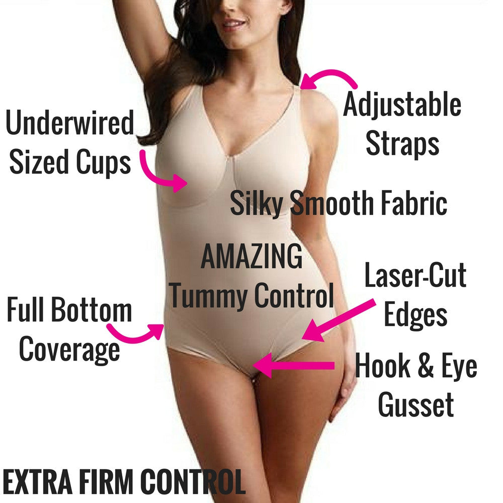 miraclesuit shapewear all in one bodysuit