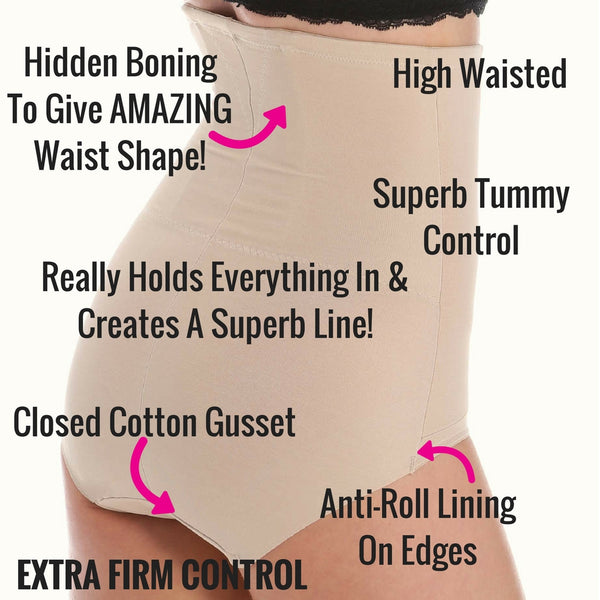 e38718bc8 Miraclesuit Extra Firm Control Pants With Back Magic - Boned Shapewear –  The Magic Knicker Shop