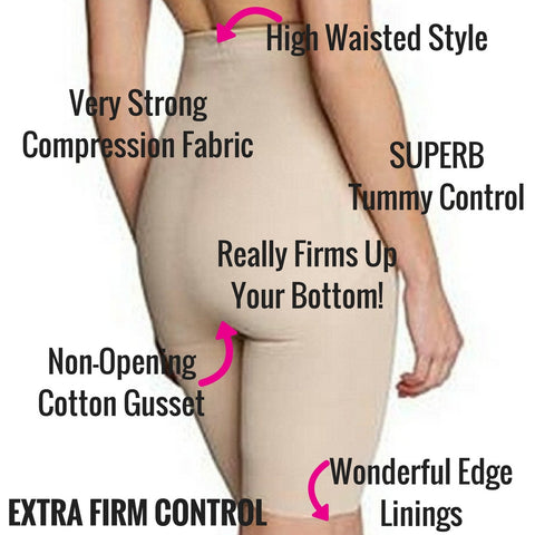 miraclesuit shapewear inches off thigh trimmer