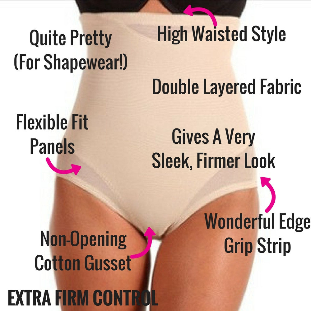 ee9e72b749 Miraclesuit Sexy Sheer Shaping High Waist Control Briefs  2785 – The Magic  Knicker Shop