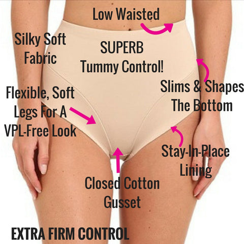 miraclesuit shapewear slimming briefs low waist