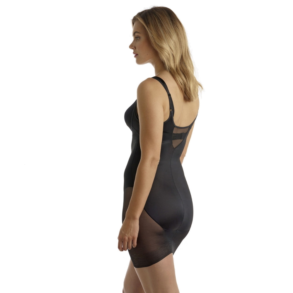 Miraclesuit Sexy Sheer WYOB Extra Firm Shapewear Slip 2772 Black Back