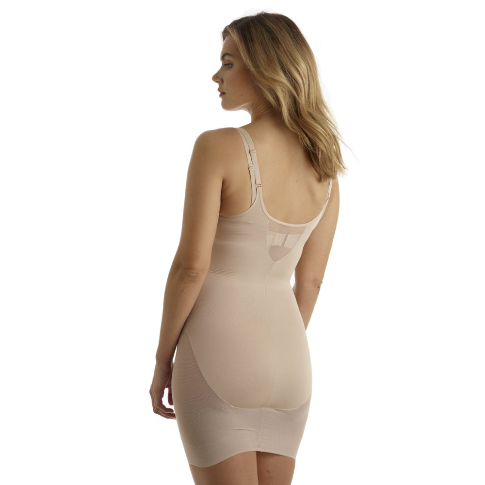 Miraclesuit Sexy Sheer WYOB Extra Firm Shapewear Slip 2772 Natural Back