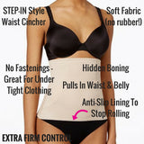 miraclesuit shapewear step in waist cincher