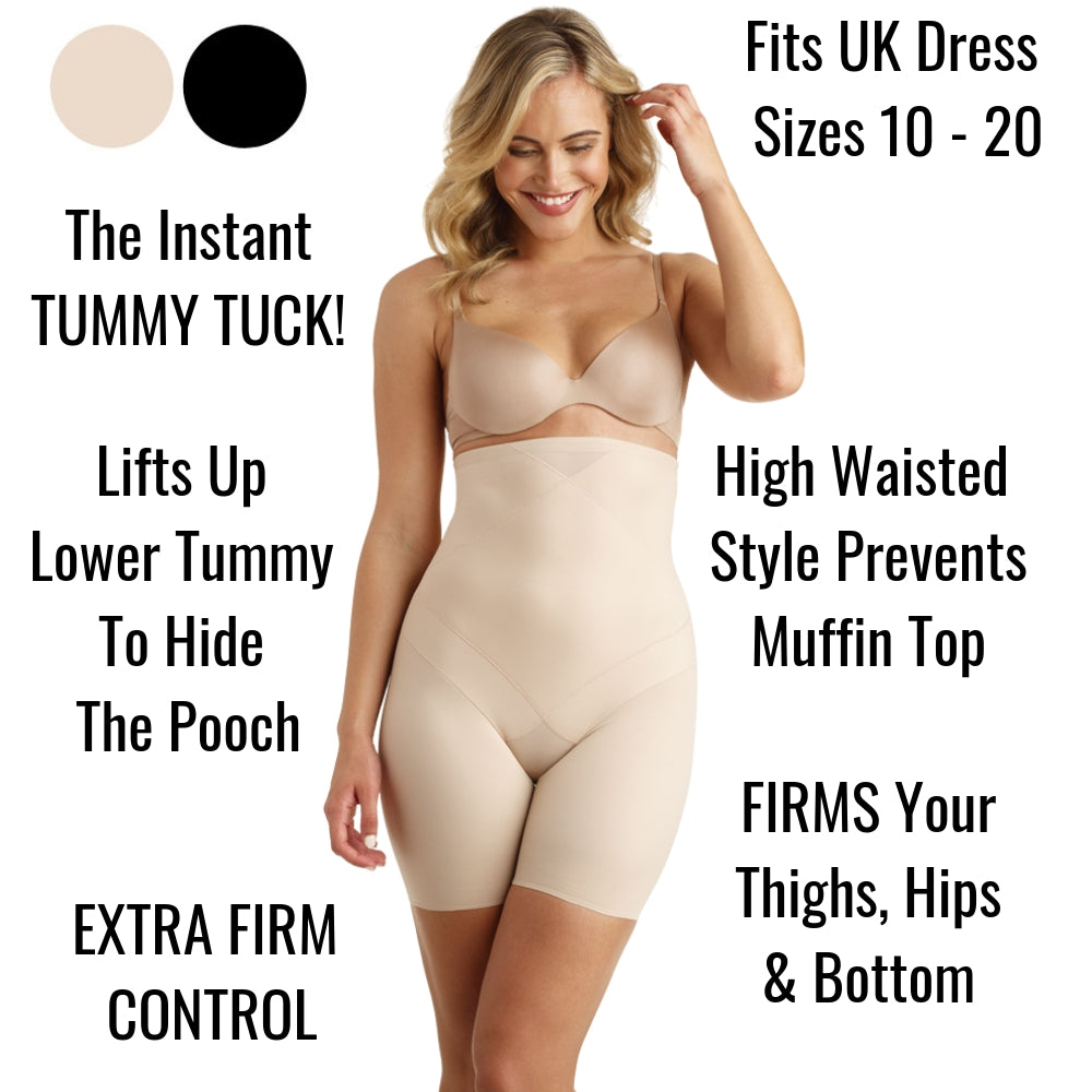 Miraclesuit Instant Tummy Tuck High Waist Shorts 2419