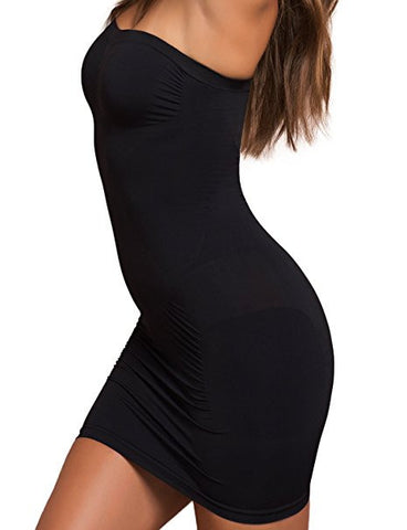 Plie Shapewear Body Slimming Tube In Black