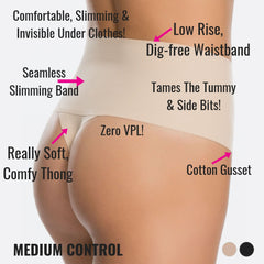 Spanx Control Thong - Best Shapewear For Tummy Control