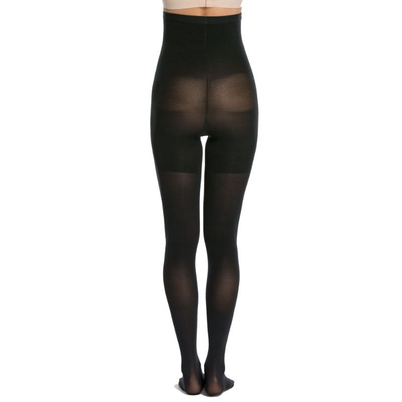 Spanx Control Tights Black Back View