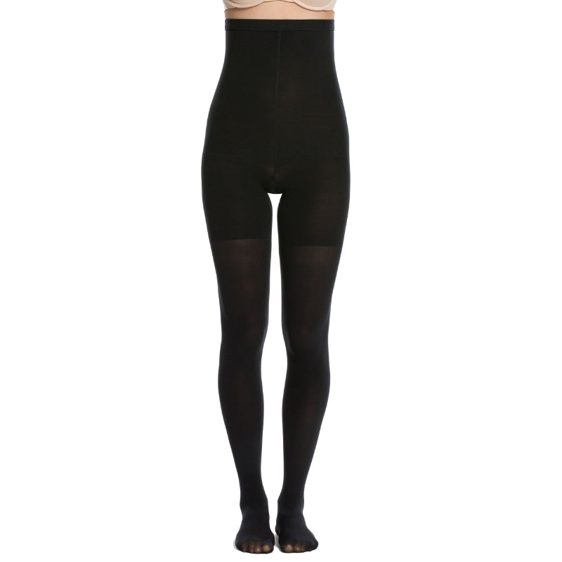 Spanx Control Tights Black Front View