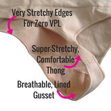 Spanx Everyday Shaping Thong Gusset