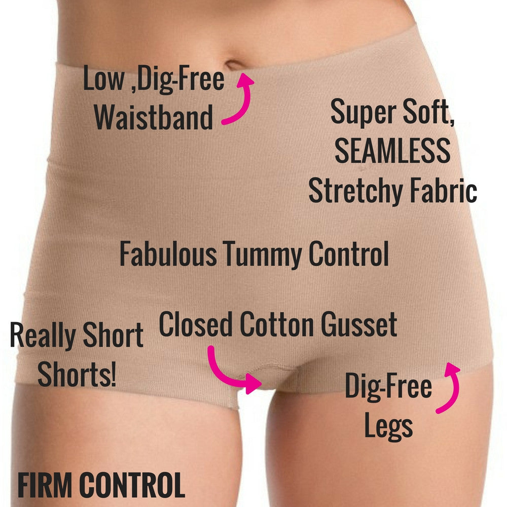 spanx everyday shaping boy shorts