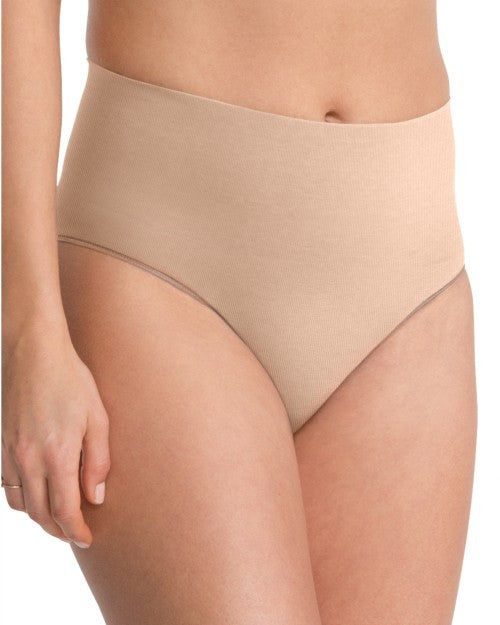 spanx everyday shaping briefs nude front