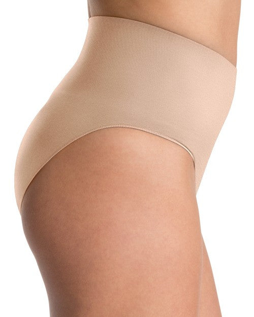 spanx everyday shaping briefs nude side