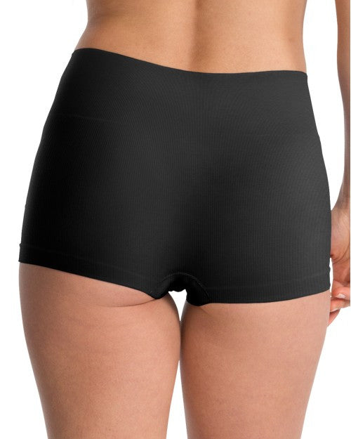 Spanx Everyday Shaping Panties Boy Short - SS0915 - Black Back View