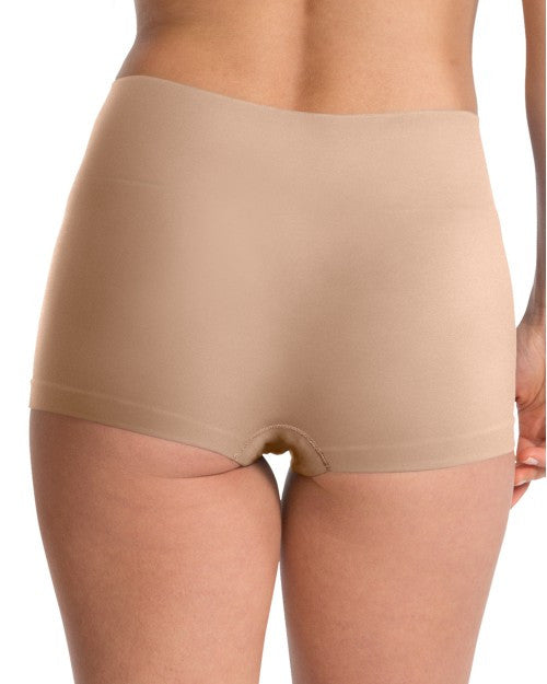 Spanx Everyday Shaping Panties Boy Short - SS0915 - Natural Back View