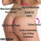 spanx everyday shaping thong