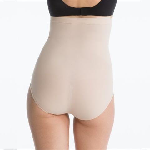 Spanx Higher Power Panties Briefs In Natural Back View