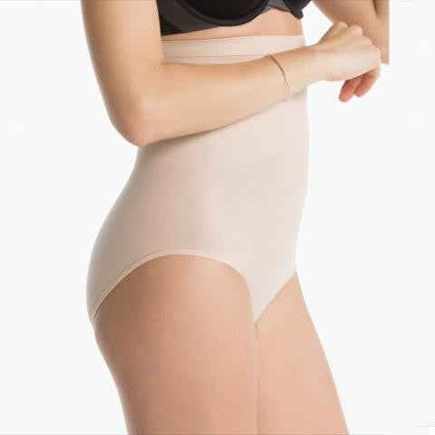 Spanx Higher Power Panties Briefs In Natural Side View
