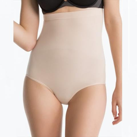 Spanx Higher Power Panties Briefs In Natural Front View