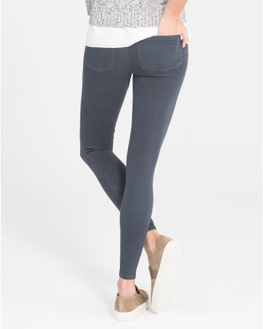 Spanx Jean-ish Steel Grey Slimming Leggings - SPX 20056R Back View
