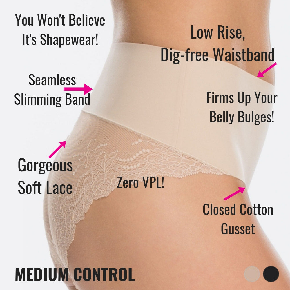 8094480dc3dff Spanx Lace Control Panty (You Won't Believe It's Shapewear!) – The ...